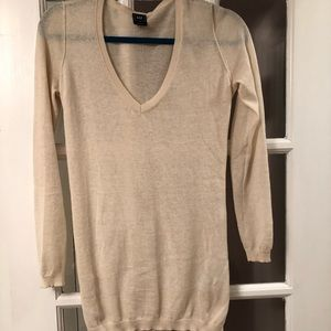 Knit Sweater from Gap, Size XS, cream colored